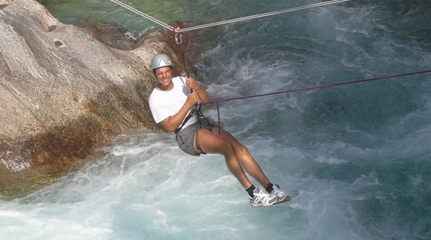 Try out the adrenaline pumping canopying at Quality Voringfoss Hotel in Eidfjord
