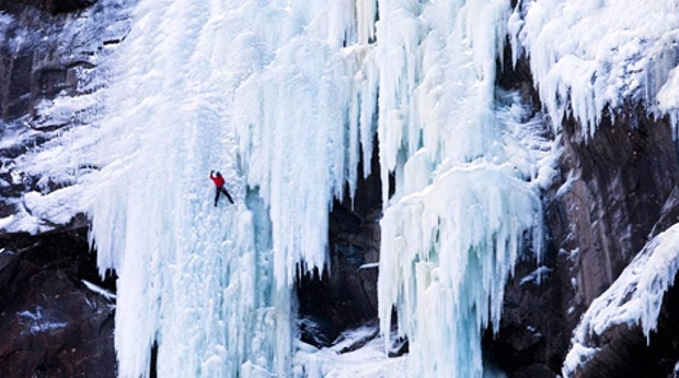 You will find the perfect ice climbing conditions at Quality Voringfoss Hotel in Eidfjord