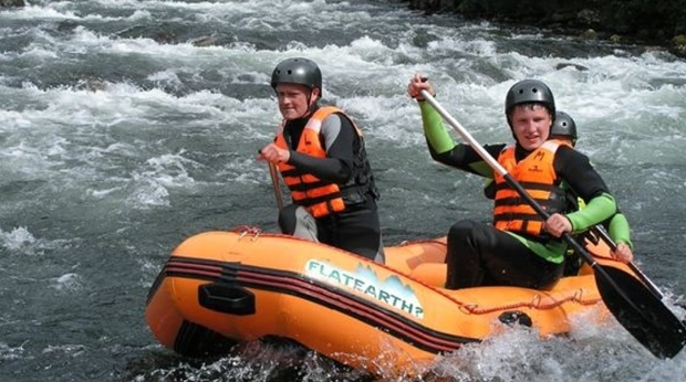 Superb rafting opportunities at Quality Voringfoss Hotel in Eidfjord