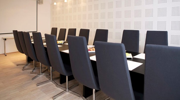 Modern and well-equipped meeting room facility at Quality Waterfront Hotel in Alesund