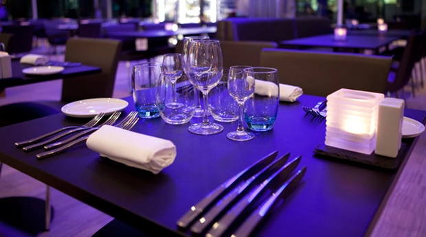 The classy and top quality Aqua hotel restaurant at Quality Waterfront Hotel in Alesund