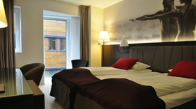 Large family hotel room (35-38 m2) at Quality Waterfront Hotel in Alesund