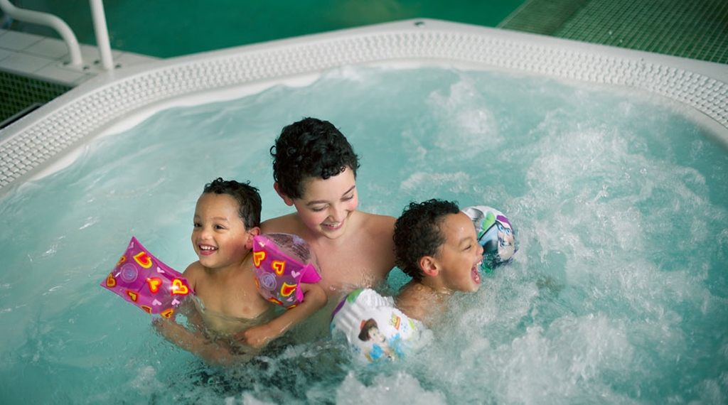 Spa for the entire family at Quality Winn Hotel in Goteborg